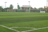 Football court finised in Vietnam