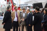 Vice Mayor of Munich Visited XCMG Exhibition Booth on bauma