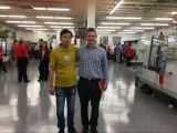 Visit customers in USA