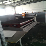 plastic cnc rounting / laser cutting factroy equipment