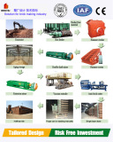 Red Clay Brick Making Machinery with Clay Brick Factory Design