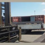 Steel channel in truck 1