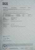 Water Resistance Test Report