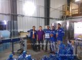 120BPH 5 Gallon Bottle Filling Line and 6000BPH Bottled water line in Madagascar