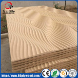 Texured 3D MDF wall panel for TV backboard