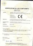 S1100 Series Certificates