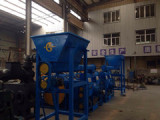delivery of 2 sets piston briquette press