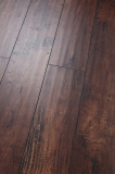 Handscraped High Quality HDF Laminated Flooring AC3 E1 Embossed-in-Register(EIR)