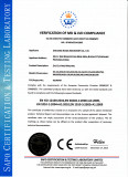 CE Certificate of Die Cutting Machine