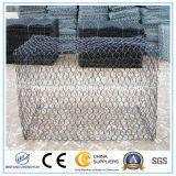 Heavy Galfan + PVC Coated Woven Wire Mesh Gabions