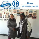 Kenya client visiting 30t maize mill