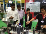 Egyptian Customer in Thailand Exhibition