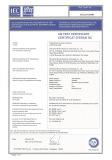 LED High bay light_CB certificate