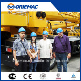 Algeria Clients Visited XCMG Factory For Truck Crane & Road Roller