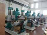 Radial drilling machine production corner