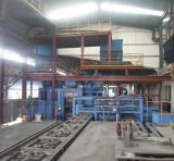 Horizontal automatic moulding lines for casting iron manhole covers production