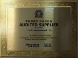 Audited supplier by SGS yearly