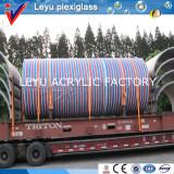 large cylinder tank loading
