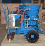 Gunning machine for refractory spraying