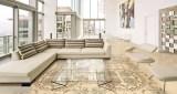 Glazed polished tile for home