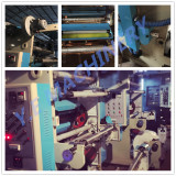 Flexo printing machine show in workshop