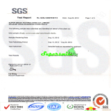 Superswimwear SGS Certification
