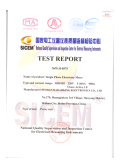IEC62052-11/IEC62-53-21 for single phase electric meter -DDS155