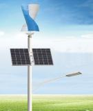 Small SV Vertical Wind Generator Turbine windmill Solar Hybrid