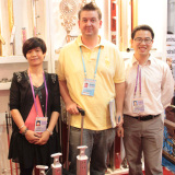 England client Bill come to our booth