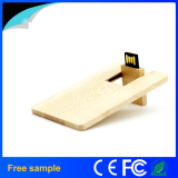 Promotional Gift Logo Engrave Wooden USB Stick