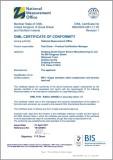 OIML Certificate C3