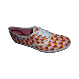 African Printed Canvas Footwear Sneaker Shoe
