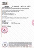 AS 1530.3 Certificate-Flame Retardant