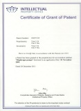 Certificate of US Patent