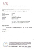SGS RoHS report for ABS page1