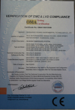CE CERTIFICATION of REVERSE OSMOSIS SYSTEM