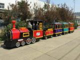 Amusement electronic train