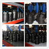 Carbon steel 1pc/2pc/3pc thread floating ball valve