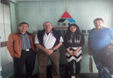 NZ distributor visited dingbo and discuss the quartz seperating plant