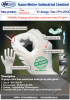 Nmsafety 18 gauge nylon liner coated new water-based PU glove
