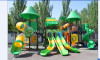 Large outdoor playground slide