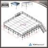 Outdoor All-terrain Event Aluminum Adjustable Portable Stage