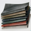 Embossed PU PVC Croco Leather for bag handbag