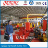 U.A.E client visiting our factory for plasma & flame cutting machine
