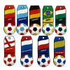 Real capacity High quality football team badge USB flash drive