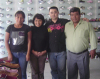 The client from South America come to visit us