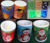 Plasic LED Color-changing Candle
