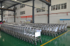 Double-decker chassis stainess steel airport trolley