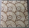 Mosaic Floor Tile, Round Pattern Marble Stone Mosaic (HSM173)