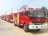 2500Liters water fire truck exported to Myanmar